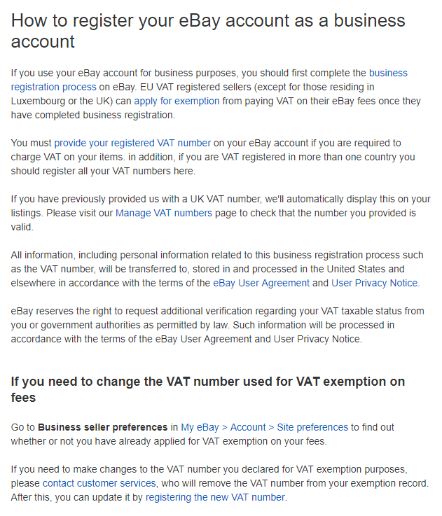 How To Register Your Ebay Account As A Business Account Dscomparison