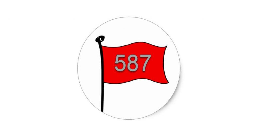 ebay 587 flag